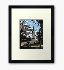 St Andrews Church Evandale Tasmania 1834 Framed Print