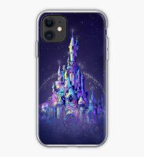cinderella castle abstract 3 iphone case