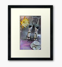 Ode To Charles Murphy Framed Print