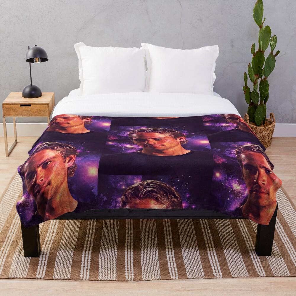 Paul Walker Throw Blanket
