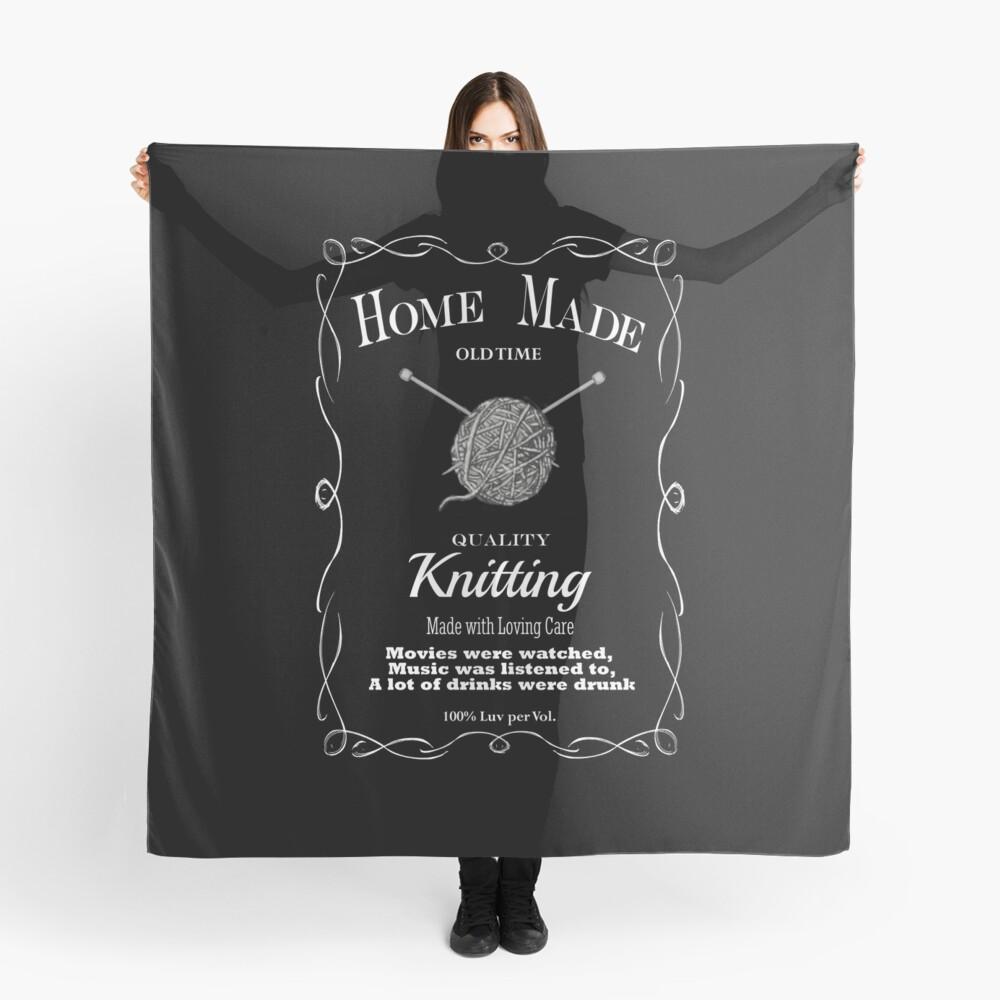 Retro Knitting Design 1 Scarf