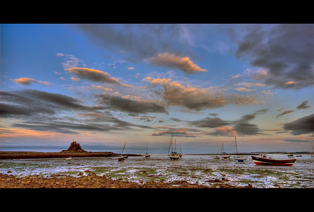 Sunset boats by james  thow