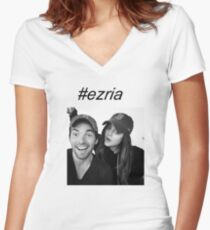 #ezria  Women's Fitted V-Neck T-Shirt