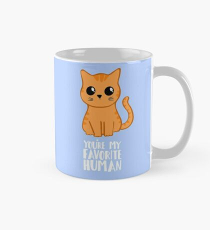 You're my favorite human - Ginger Cat - Gifts from the cat - Cat MOM Mug