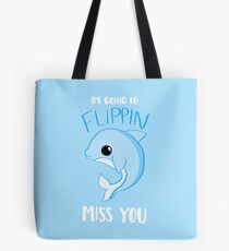 DOLPHIN - Miss You Card Gifts - Leaving Tote Bag