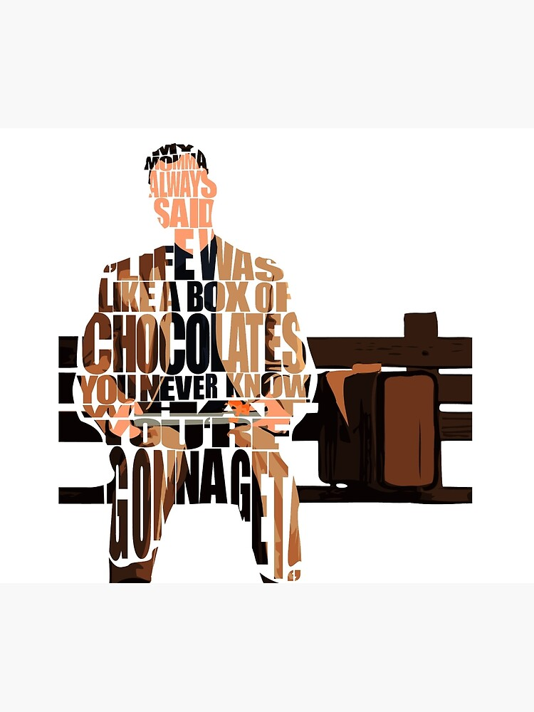 Forrest Gump by geekmywall