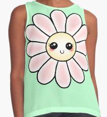 Kawaii Daisy | Pink Blossom Flower Sleeveless Top