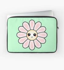 Kawaii Daisy | Pink Blossom Flower Laptop Sleeve