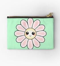 Kawaii Daisy | Pink Blossom Flower Zipper Pouch