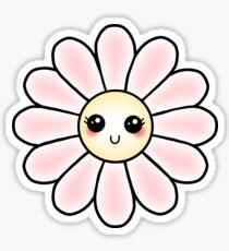 Kawaii Daisy | Pink Blossom Flower Sticker