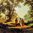 Road To Emmaus by CVogiatzi