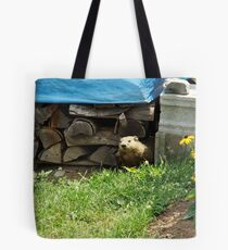 How Much Wood Can This Woodchuck Chuck? Tote Bag