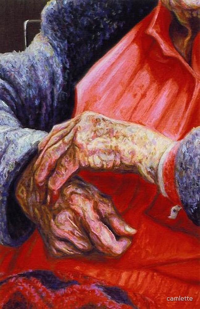 Miss Clyde's Hands II by Cameron Hampton