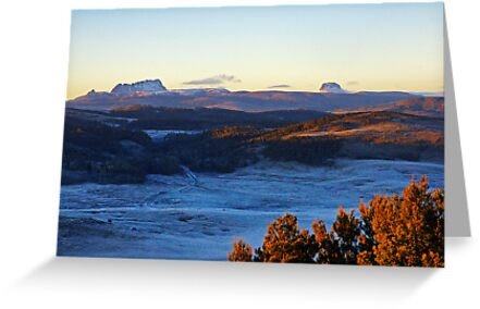 Sunrise Over Cradle Mountain by Harry Oldmeadow