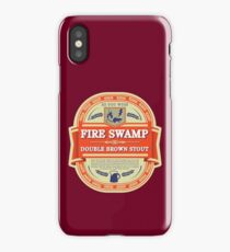 Fire Swamp Double Brown Stout iPhone Case/Skin