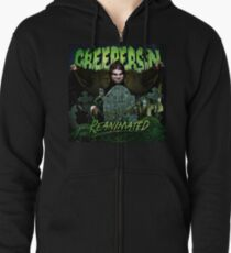 Reanimated Cover Zipped Hoodie