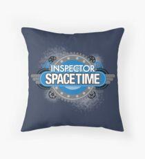 Inspector Spacetime Throw Pillow