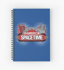 Inspector Spacetime Blorgon Edition Spiral Notebook