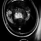 1960 Aston Martin DB4 GT Superleggera Black White Dark by LongbowX