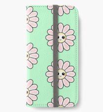 Kawaii Daisy | Pink Blossom Flower iPhone Wallet/Case/Skin