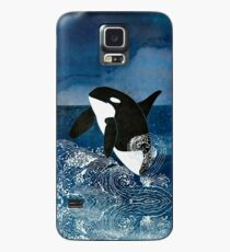 Killerwal-Schwertwal Hülle & Klebefolie für Samsung Galaxy