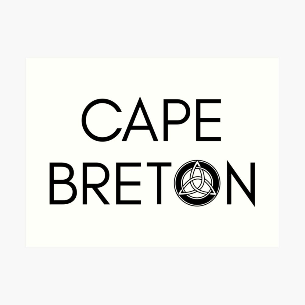 Kap-Bretonischer Keltischer Knoten Kunstdruck