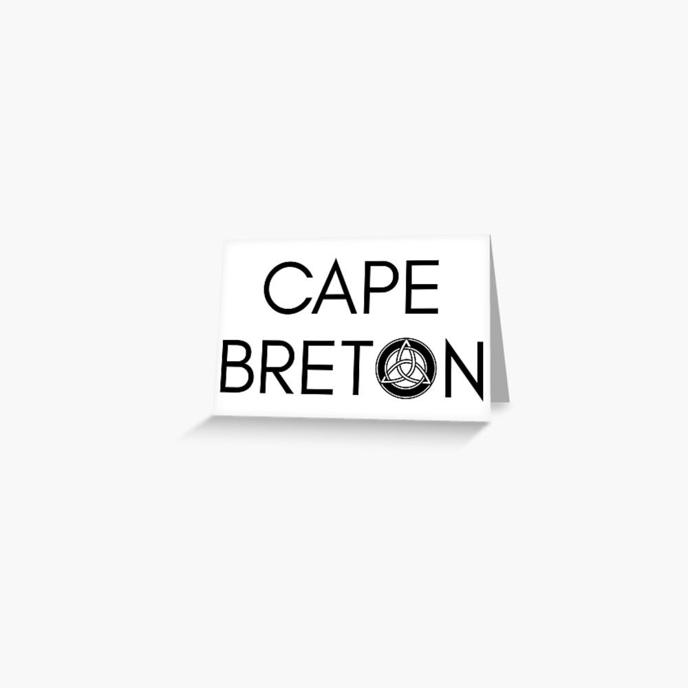 Kap-Bretonischer Keltischer Knoten Grußkarte