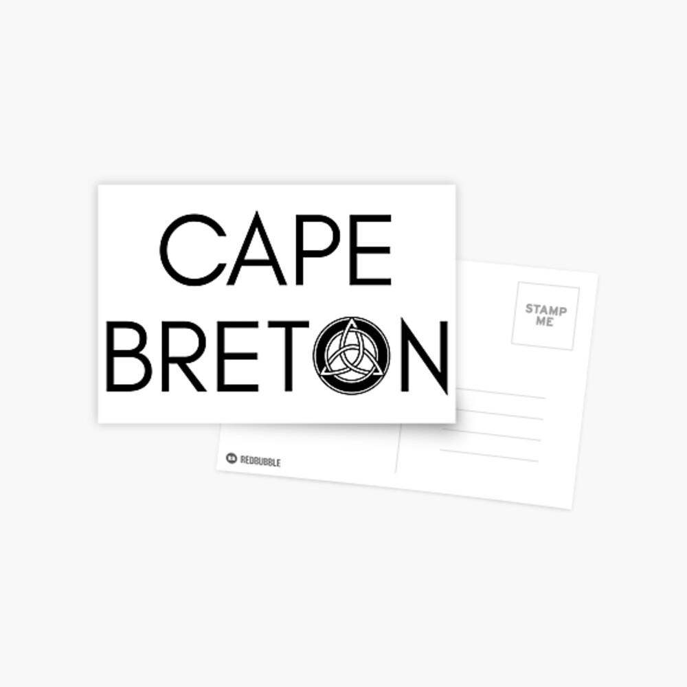 Kap-Bretonischer Keltischer Knoten Postkarte