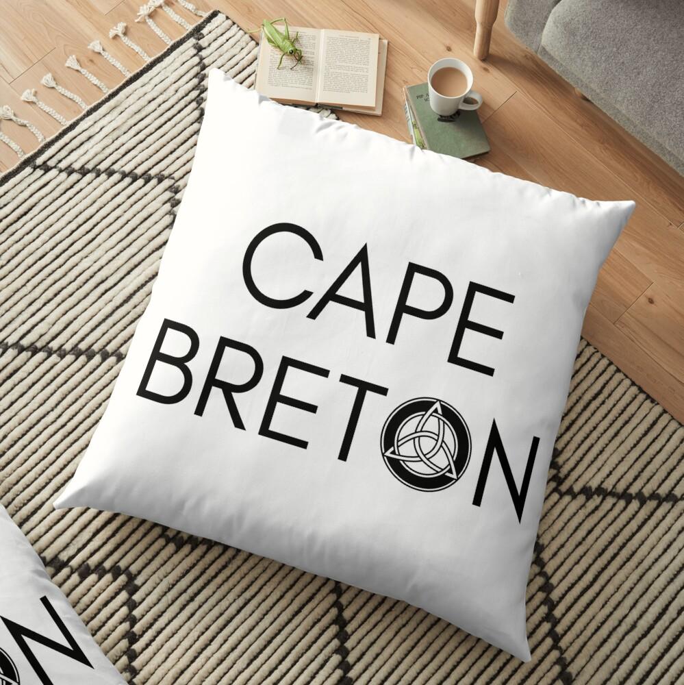 Kap-Bretonischer Keltischer Knoten Bodenkissen