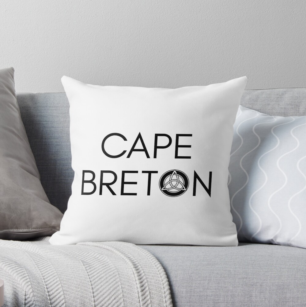 Kap-Bretonischer Keltischer Knoten Dekokissen