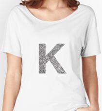 K Women's Relaxed Fit T-Shirt