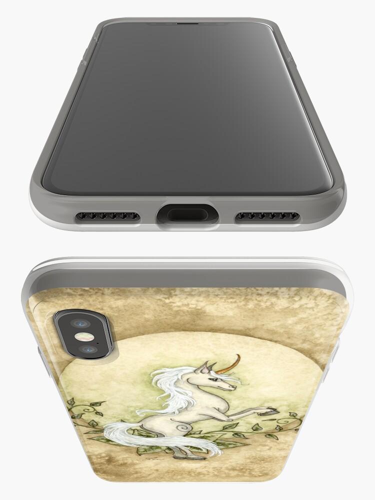 Vista alternativa de Funda y vinilo para iPhone Elemento de la tierra