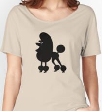 Angry Animals - French Poodle Relaxed Fit T-Shirt