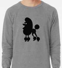 Angry Animals - French Poodle Lightweight Sweatshirt