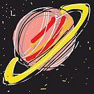 Saturn by rimadi