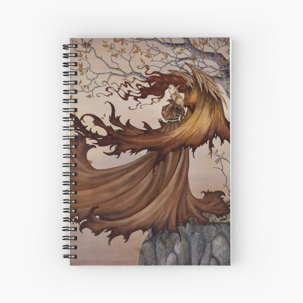 Passage to Autumn Spiral Notebook