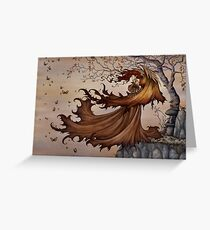 Passage to Autumn Greeting Card