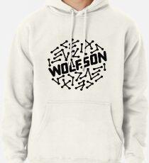 Wolfson - Black Pullover Hoodie