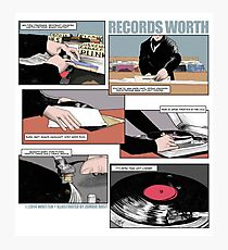 Records Worth Photographic Print