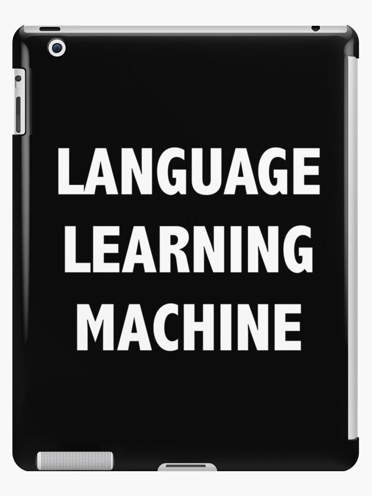 'Language learning machine' iPad Case/Skin by Lingo Shop