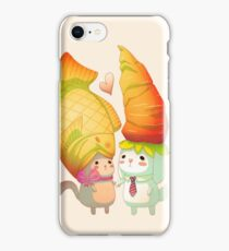 Taiyaki and carrots iPhone Case/Skin