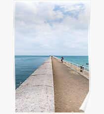 St. Catherine's Breakwater, Jersey Poster