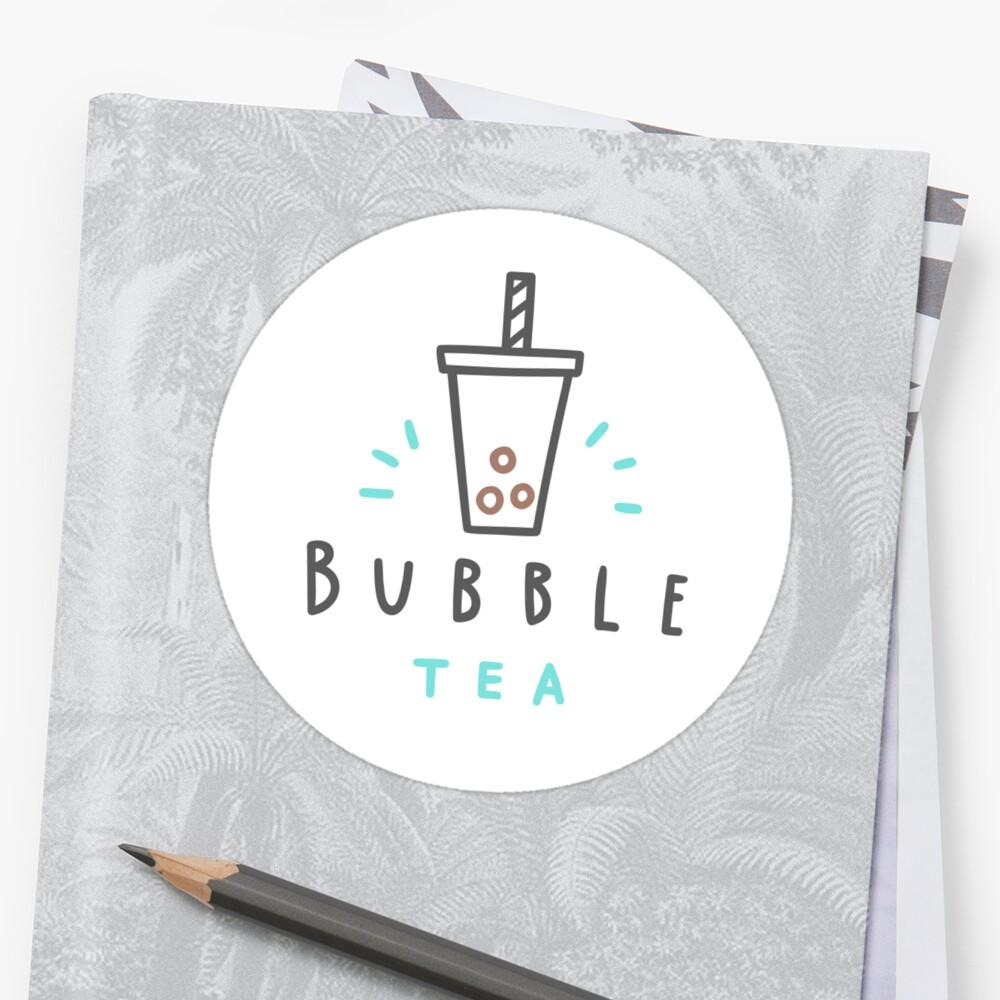 Bubble tea 3 Sticker