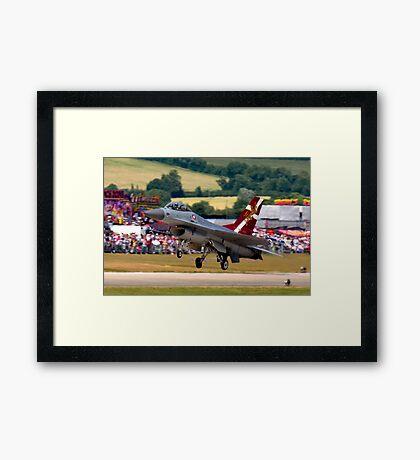 F16 MLU Landing Framed Print