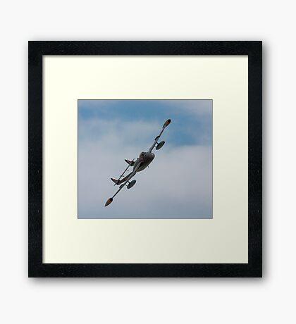 Venom , Air Atlantique Classic Flight Framed Print