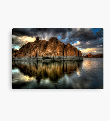 Darkness on the Edge of....wait ...Bruce stole my title! Canvas Print