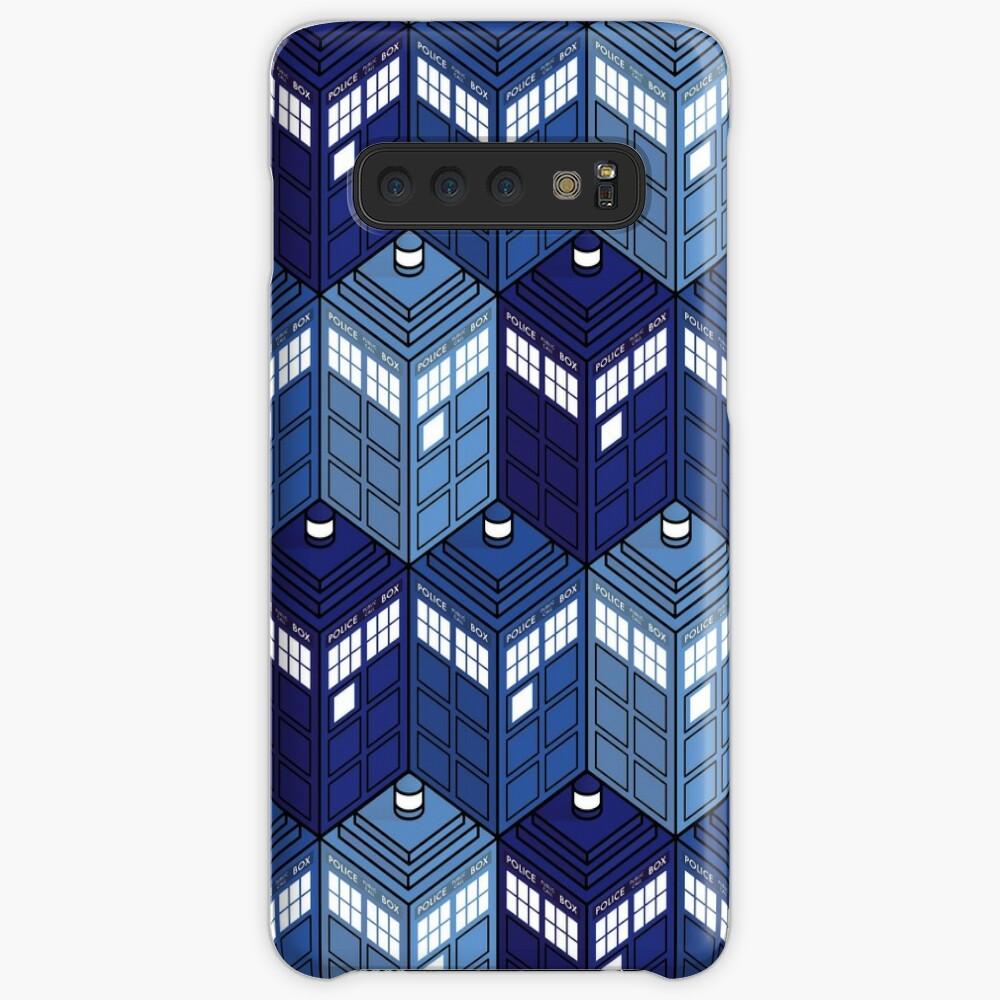 Infinite Telefonzellen Hülle & Klebefolie für Samsung Galaxy