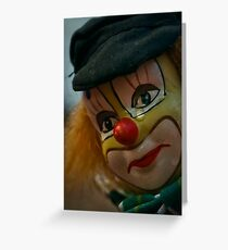 Tears of a Clown ... Greeting Card