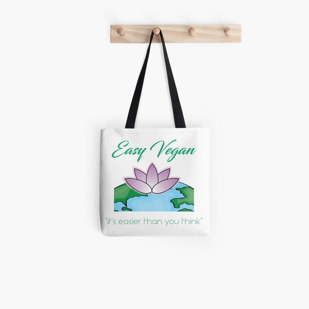 Easy Vegan Tote Bag