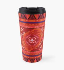 Red Elephant Travel Mug